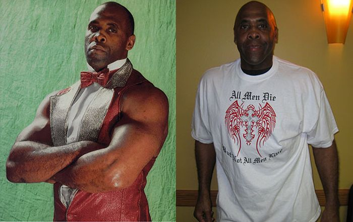 Pro Wrestlers Back In The Day And Today
