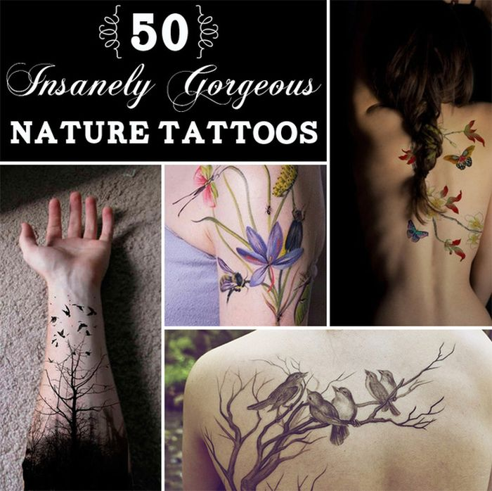 Amazing Nature Tattoos You Have To See
