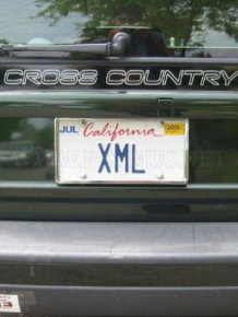 Web-geek license plates