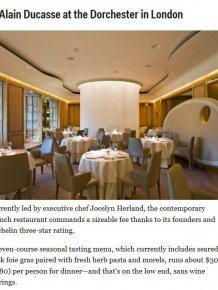 These Are The Most Expensive Restaurants In The World