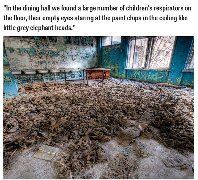 What Chernobyl Looks Like After The Nuclear Disaster