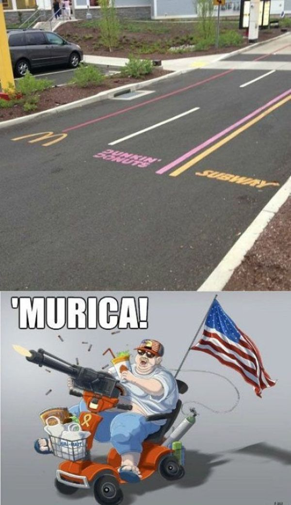 'Merica Land Of The Awesome Home Of The Epic