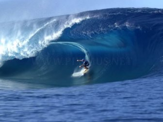 Catching Huge Waves