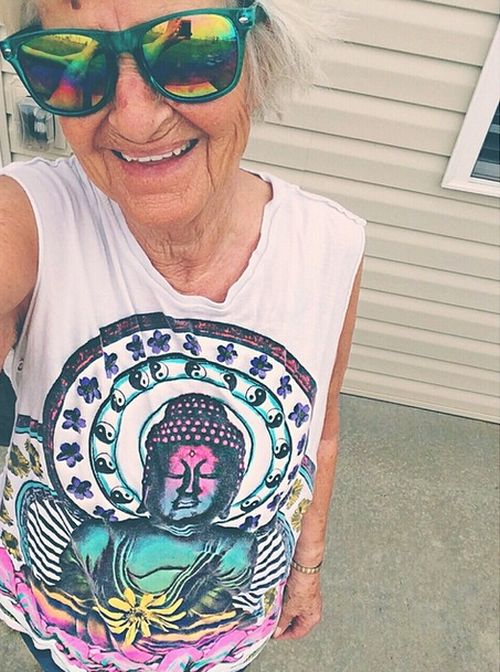 This Bad Grandma Is Out Of Control
