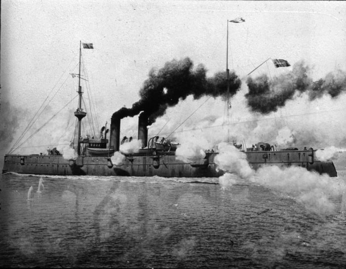 An Inside Look At The US Navy 116 Years Ago