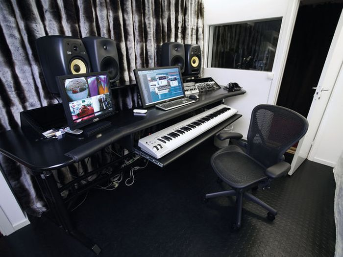 See The Work Stations Of Your Favorite Music Producers