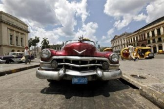 Vintage Vehicles in Cuba