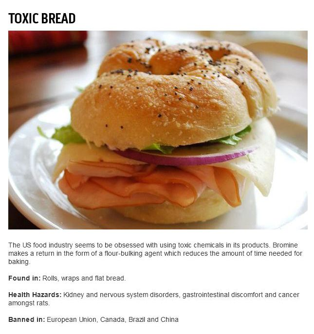 Banned Food Items That Americans Are Still Eating