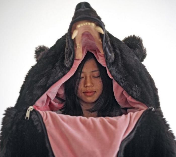 You Need This Grizzly Bear Sleeping Bag