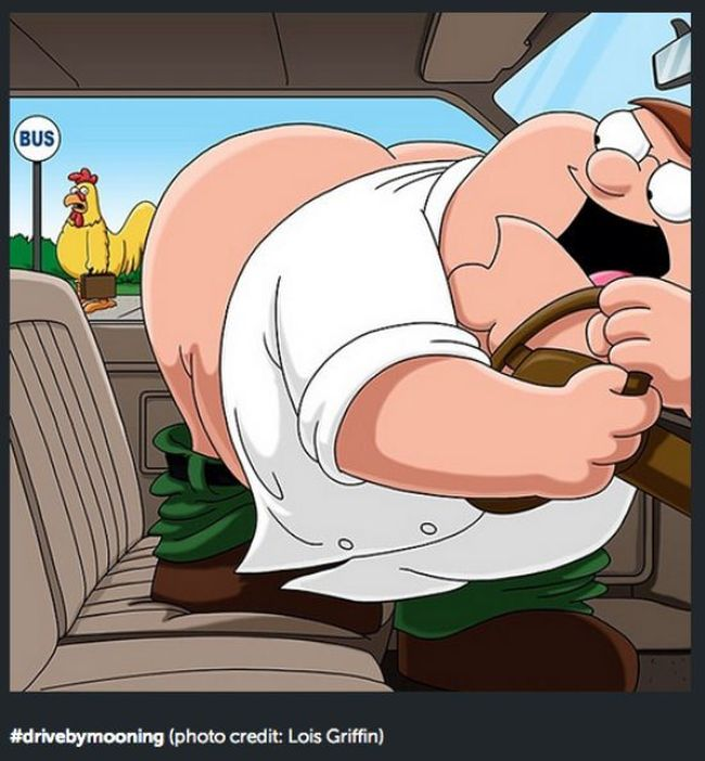 Peter Griffin Is The Coolest Person On Instagram