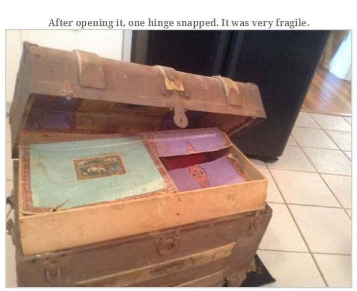 Old Man Leaves Behind Fascinating Treasure Trunk