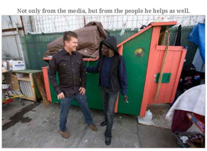 Homeless Shelters Made Out Of Yesterday's Garbage