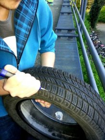 Old Tires Can Make Your Sneakers Brand New Again