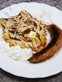 The Coolest Pancake You're Ever Going To See