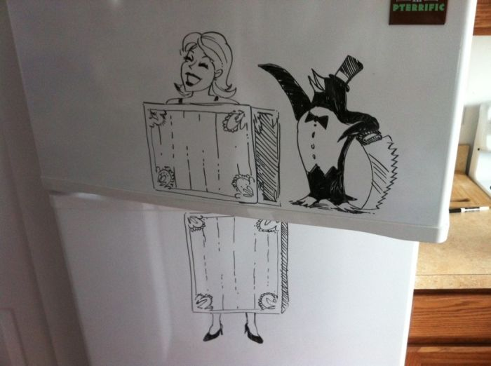 This Artists Turns Refrigerators Into Epic Works Of Art