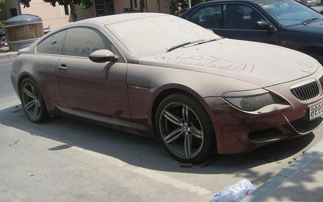 Abandoned Luxury Cars In Dubai Vehicles