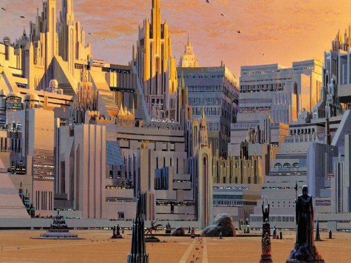 Ralph McQuarrie Makes Epic Star Wars Art
