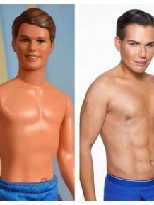 This Guy Became A Real Life Ken Doll