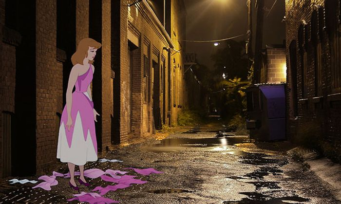A Realistic Look At The Lives Of Disney Characters