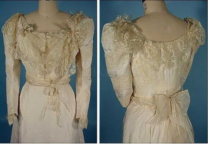 The Evolution of Wedding Dress 1870 - 1980 , part 1980