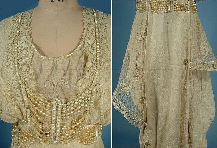 The Evolution of Wedding Dress 1870 - 1980 , part 1980