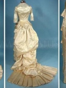The Evolution of Wedding Dress 1870 - 1980
