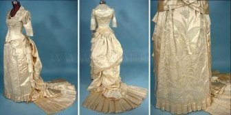The Evolution of Wedding Dress 1870 - 1980