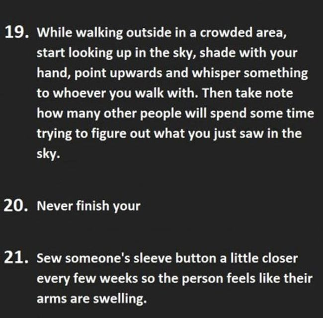 The Most Discreet Ways To Drive Someone Crazy
