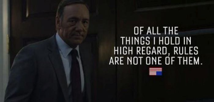 House Of Cards Quotes Cool Quotes From House Of Cards' Frank Underwood  Others