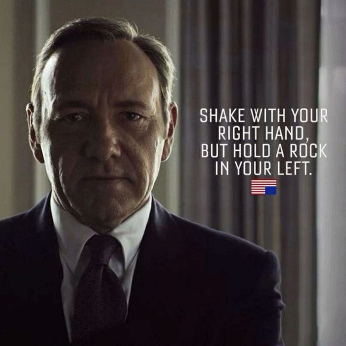 Cool Quotes From House Of Cards' Frank Underwood