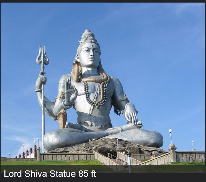 A Magnificent Collection Of The World's Largest Statues