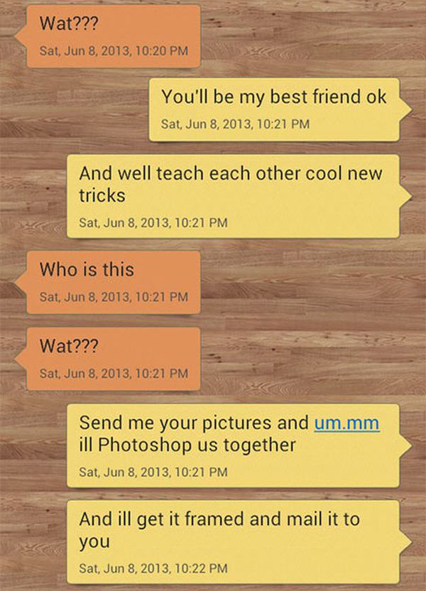 Wrong Number Text Gets Trolled Big Time
