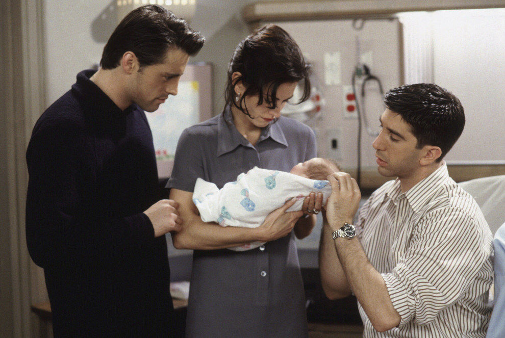 "First Season ""Friends"" Photos That Are a Trip Down Memory Lane"