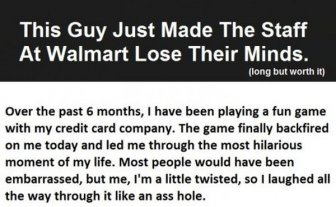 This Guy Drove The Staff At Wal Mart Absolutely Crazy