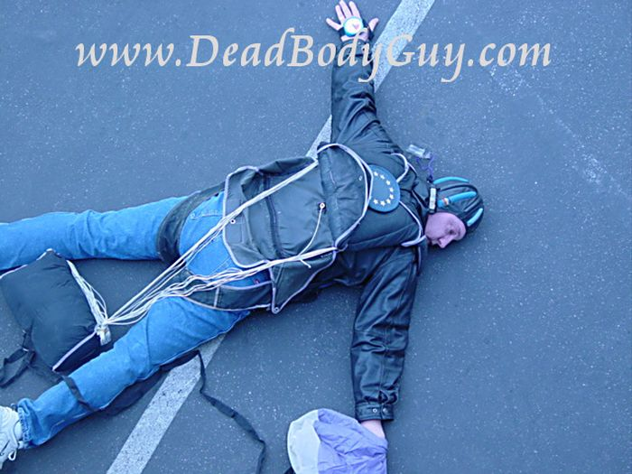 Nobody Plays Dead Like Dead Body Guy