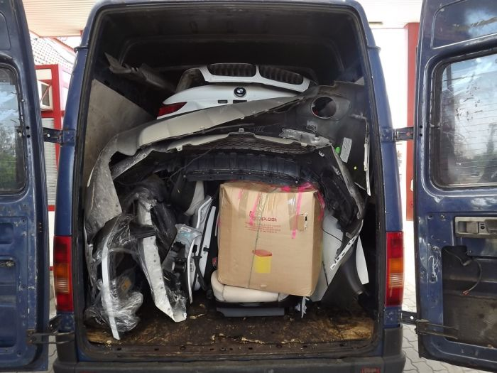 See How You Can Fit An Entire BMW Into A Van