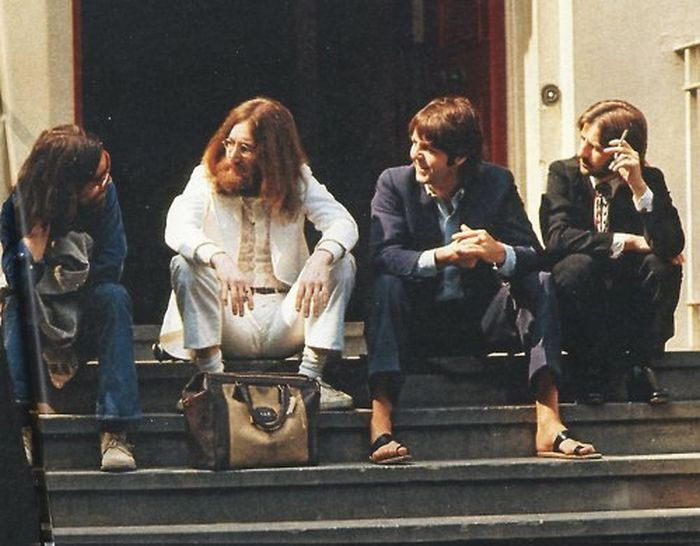Behind The Scenes Of The Beatles At Abbey Road