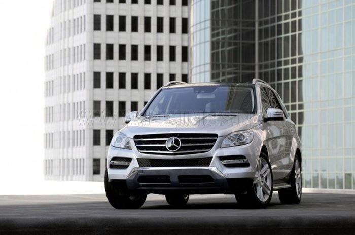 New Mercedes-Benz ML-class