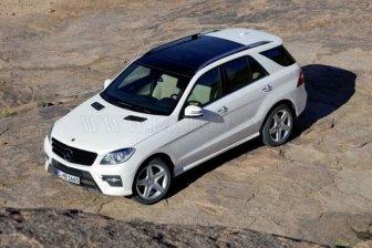 New Mercedes-Benz ML-class