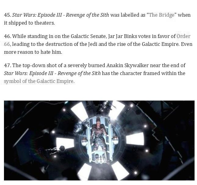 58 Star Wars Facts From A Galaxy Far Far Away