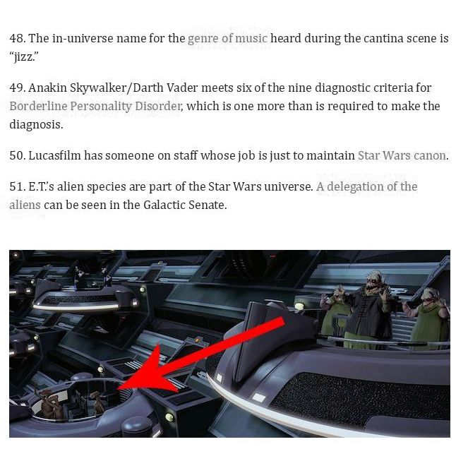 58 Star Wars Facts From A Galaxy Far Far Away