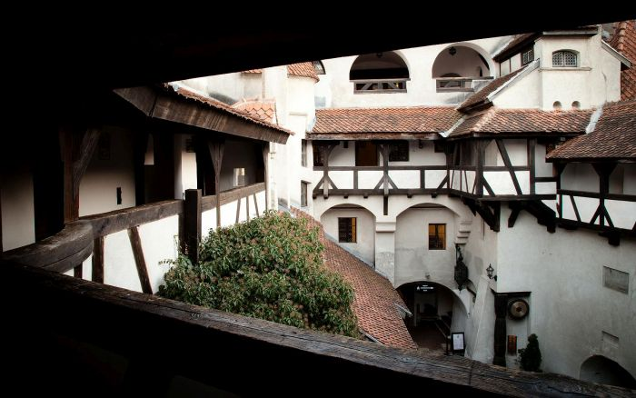 Make Dracula's Transylvania Mansion Your New Home