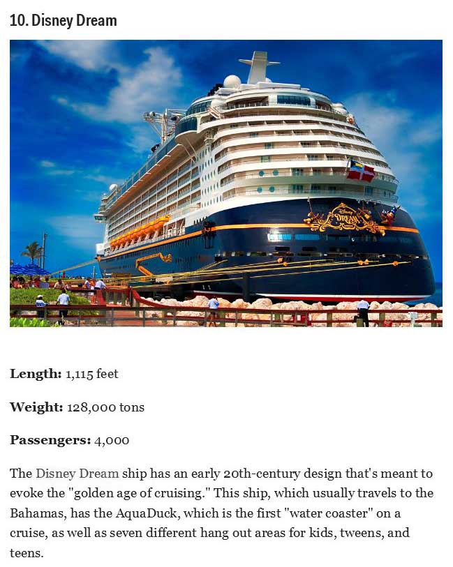 The Coolest And Biggest Cruise Ships On The Planet Others - Coolest cruise ships