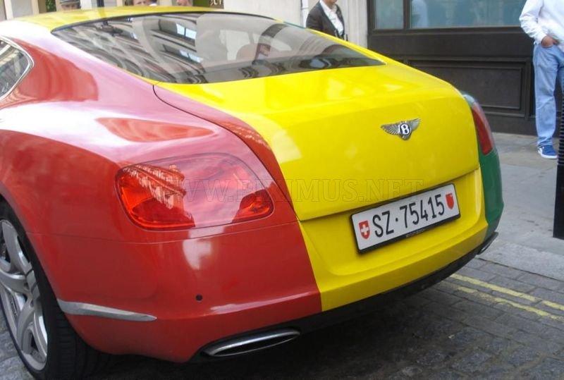 Bentley Continental Gt Rasta Vehicles