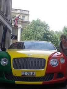 Bentley Continental GT Rasta