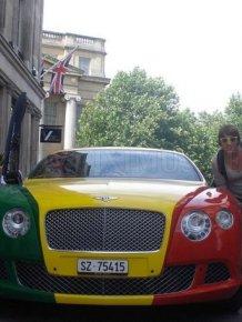 Bentley Continental GT Rasta