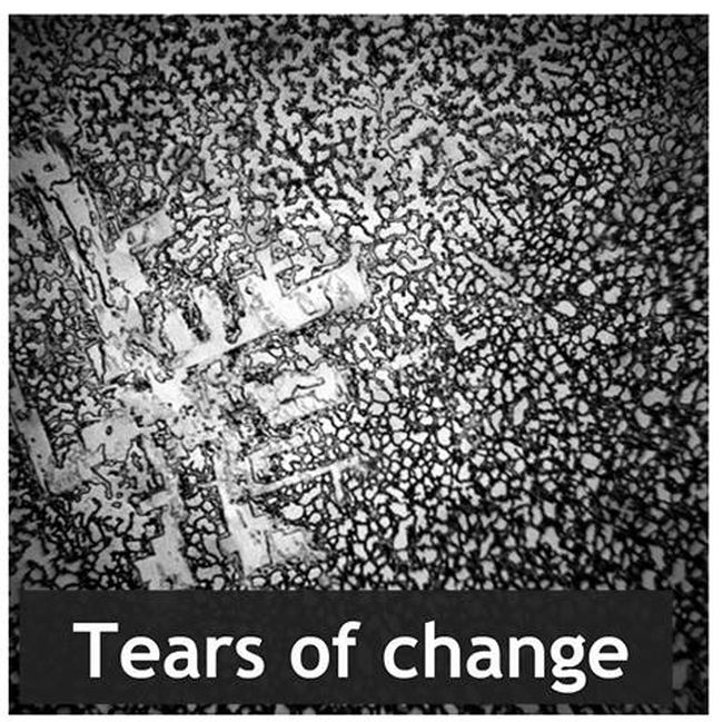 This Is What Dried Human Tears Look Like