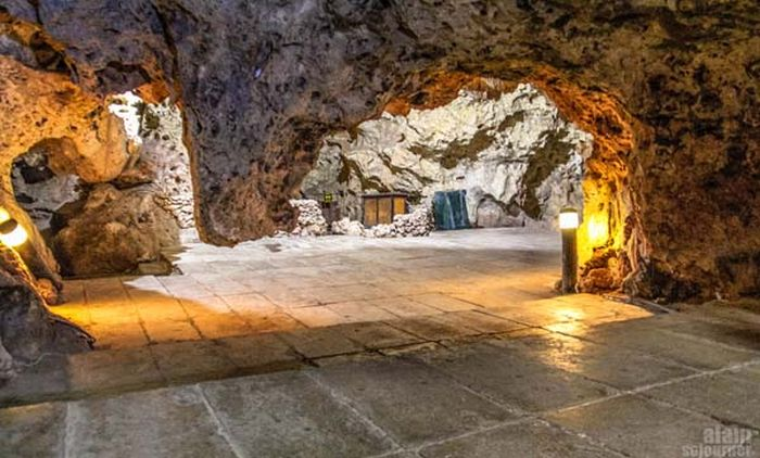 This Cave Is An Awesome Party Spot