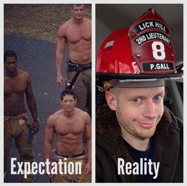 Awesome Life Moments Expectations Vs. Reality