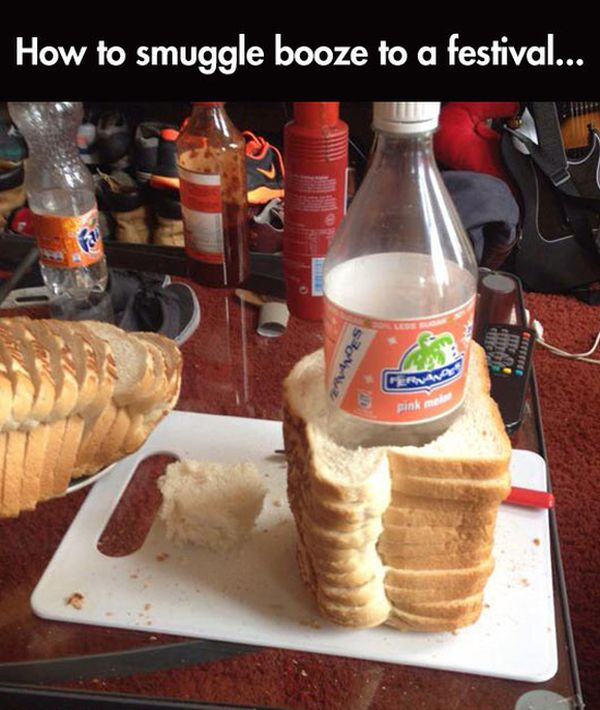 Awesome Trick For Smuggling Alcohol